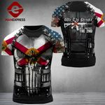 Florida Patriot Will Protect The 2nd Combat Tshirt 3d - All Over Print ARN1108
