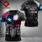 Texas Patriot Will Protect The 2nd Combat Tshirt 3d - All Over Print ARN1108