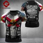 Florida Patriot If This Flag Ofends You Combat Tshirt 3d - All Over Print ARMQ1108