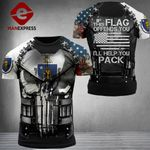 Massachusetts Patriot If This Flag Ofends You Combat Tshirt 3d - All Over Print ARMQ1108