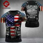 US Patriot If This Flag Ofends You Combat Tshirt 3d - All Over Print ARMQ1108