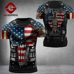 US Patriot One Nation Under God Combat Tshirt 3d V3 - All Over Print ARA1108
