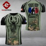 AH France Solider Tshirt 3D - All Over Print MA17