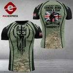 AH British Solider Tshirt 3D - All Over Print MA17