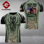 AH U.S Solider Tshirt 3D - All Over Print MA17