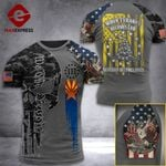 AH Arizona Patriots Tshirt 3D - All Over Print HQ17 LAW