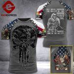 Customized Florida 3% Patriot Walk Through The Valley Tshirt 3d - All Over Print ART1308
