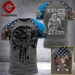 Customized Oklahoma 3% Patriot Walk Through The Valley Tshirt 3d - All Over Print ART1308