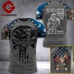 Customized South Carolina 3% Patriot Walk Through The Valley Tshirt 3d - All Over Print ART1308