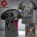Arkansas 3% Patriot Walk Through The Valley v2 Tshirt 3d - All Over Print ART1308
