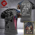 Georgia 3% Patriot Walk Through The Valley v2 Tshirt 3d - All Over Print ART1308