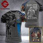 Oklahoma 3% Patriot Walk Through The Valley v2 Tshirt 3d - All Over Print ART1308