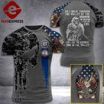 Virginia 3% Patriot Walk Through The Valley v2 Tshirt 3d - All Over Print ART1308