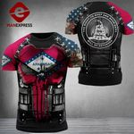 Arkansas 3% Patriot The Right To Keep & Bear Arms Tshirt 3d - All Over Print ARD1308