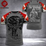 Customized Canadian 3% Patriot I Am The Storm Tshirt 3d - All Over Print ART1708