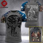 Customized South Carolina 3% Patriot I Am The Storm Tshirt 3d - All Over Print ART1708