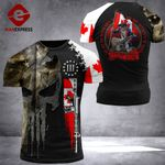 Canadian 3% Patriot To Be Rulled Tshirt 3d - All Over Print ARHQ1708