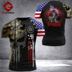 US 3% Patriot To Be Rulled Tshirt 3d - All Over Print ARHQ1708