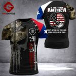 Texas 3% Patriot If You Attack America Tshirt 3d - All Over Print ARHQ1908