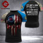 Oklahoma 3% Patriot It's Not A Gun Tshirt 3d - All Over Print ART2008