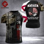 Alabama 3% Patriot If You Attack America Tshirt 3d - All Over Print ARHQ2008