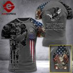 US 3% Patriot Land Of Freedom Tshirt 3d - All Over Print ARN2008