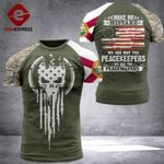 Florida 3% Patriot Peackeeper Tshirt 3d - All Over Print ARHQ2008