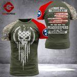 Tennessee 3% Patriot Peackeeper Tshirt 3d - All Over Print ARHQ2008