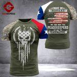 Texas 3% Patriot Peackeeper Tshirt 3d - All Over Print ARHQ2008