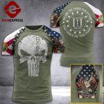 Florida 3% Patriots Tshirt 3D - All Over Print AUG-DT21