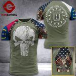 North Carolina 3% Patriots Tshirt 3D - All Over Print AUG-DT21