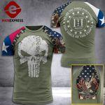 Texas 3% Patriots Tshirt 3D - All Over Print AUG-DT21