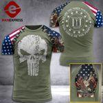 U.S 3% Patriots Tshirt 3D - All Over Print AUG-DT21