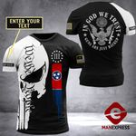 Customized Tennessee Patriot In God We Trust Tshirt 3d - All Over Print ARMQ2108