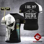 Customized Delaware I Oil My Gun Tshirt 3d - All Over Print ARHTQ2108