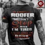 Germany Roofer Tshirt Print AUG-LN23