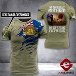 AH Personalized Australian Veterans Tshirt 3D - All Over Print AUG-DT25