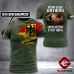 AH Personalized German Veterans Tshirt 3D - All Over Print AUG-DT25