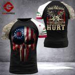 California 3% Patriot Fix Stupid Tshirt 3d - All Over Print ARHQ2508