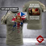 AH Personalized British Veterans Tshirt 3D - All Over Print AUG-DT25