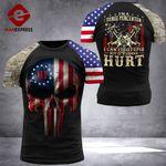 US 3% Patriot Fix Stupid Tshirt 3d - All Over Print ARHQ2508