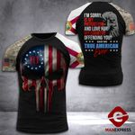 Florida 3% Patriot Tshirt 3d - All Over Print DH2508HTQ