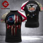 Alabama 3% Patriot No One Fight Alone Tshirt 3d - All Over Print DH2508PDT