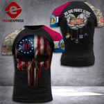 Missouri 3% Patriot No One Fight Alone Tshirt 3d - All Over Print DH2508PDT