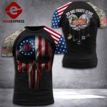 US 3% Patriot No One Fight Alone Tshirt 3d - All Over Print DH2508PDT