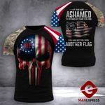 US 3% Patriot Tshirt 3d - All Over Print DH2508TMA
