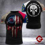 North Carolina 3% Patriot Tshirt 3d - All Over Print DH2608HTQ