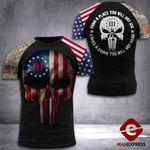 US 3% Patriot Tshirt 3d - All Over Print DH2608HTQ