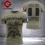 French Veteran Patriot Tshirt 3d - All Over Print DH2608NTL