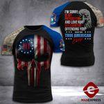 Michigan 3% Patriot Tshirt 3d - All Over Print DH2708HTQ